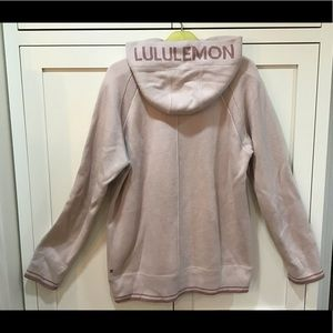 lululemon hooded cotton sweater